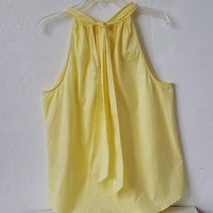 J. Crew Tops - J Crew Yellow Sleeveless shirt